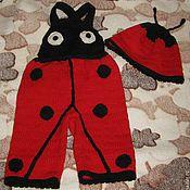 Работы для детей, ручной работы. Ярмарка Мастеров - ручная работа Детский костюм божья коровка. Handmade.