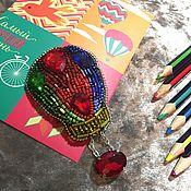Украшения ручной работы. Ярмарка Мастеров - ручная работа Брошь Воздушный шар. Handmade.