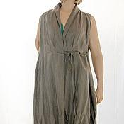 Одежда ручной работы. Ярмарка Мастеров - ручная работа Платье халат Ресурс для отдыха большой размер до 56 бохо путешественни. Handmade.