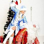 Одежда ручной работы. Ярмарка Мастеров - ручная работа Карнавальные костюмы ручной работы-Костюм Снегурочки(1). Handmade.