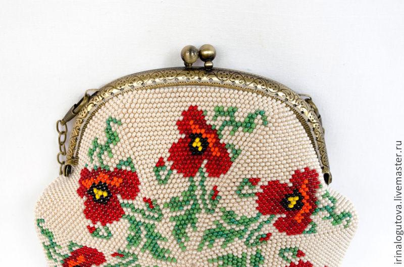 Бисерная сумочка Маки. Ирина