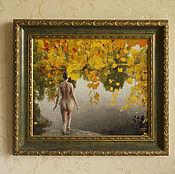 """Картины и панно ручной работы. Ярмарка Мастеров - ручная работа Картина """"Наяда"""". Handmade."""