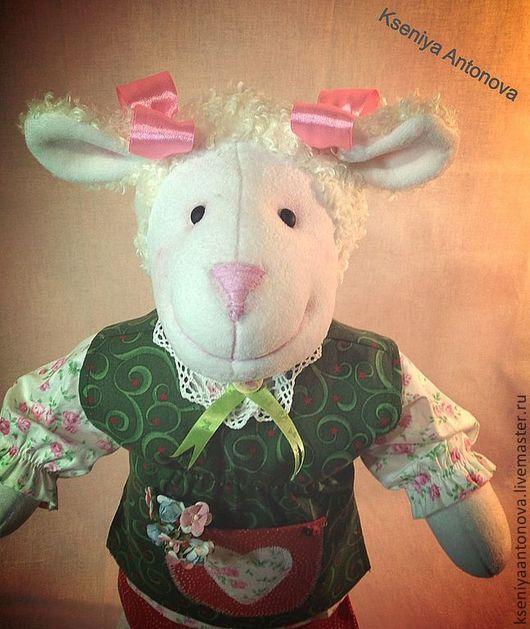 Игрушки животные, ручной работы. Ярмарка Мастеров - ручная работа. Купить Овечка Доли. Handmade. Овечка, игрушка для детей