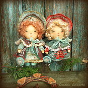 Куклы и игрушки ручной работы. Ярмарка Мастеров - ручная работа Рождественские снежинки. Handmade.