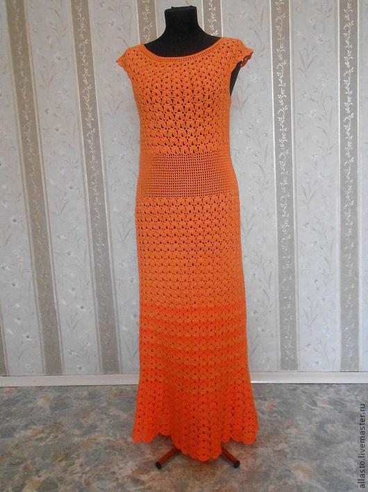 Платья ручной работы. Ярмарка Мастеров - ручная работа. Купить Платье Лето в ажуре. Handmade. Ажурное платье крючком, платье