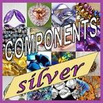 COMPONENTS SILVER - Ярмарка Мастеров - ручная работа, handmade