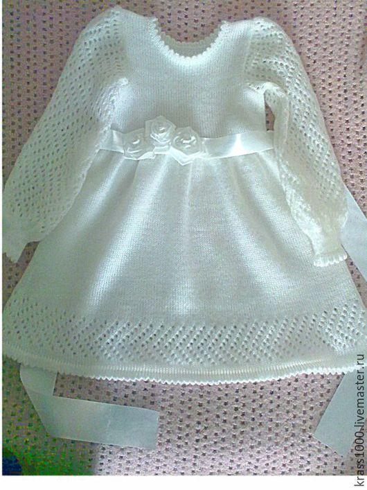 Одежда для девочек, ручной работы. Ярмарка Мастеров - ручная работа. Купить Платье Нарядное. Handmade. Белый, платье на заказ