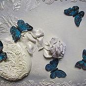 "Картины и панно handmade. Livemaster - original item ""Белая роза"". Handmade."