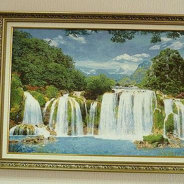 Для дома и интерьера ручной работы. Ярмарка Мастеров - ручная работа Водопад. Handmade.