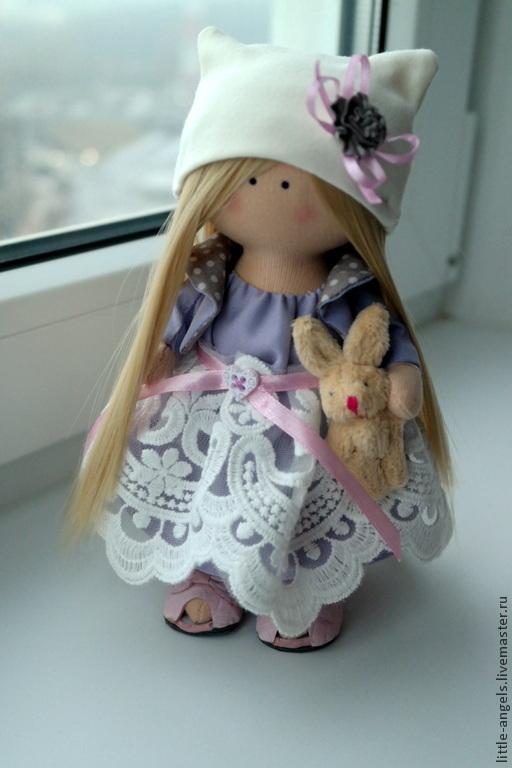 Игрушки животные, ручной работы. Ярмарка Мастеров - ручная работа. Купить Интерьерная текстильная кукла подарок. Handmade. подарок женщине