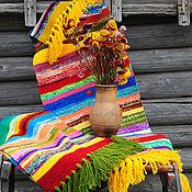 """Для дома и интерьера ручной работы. Ярмарка Мастеров - ручная работа Коврик """"Солнечный зайчик"""". Handmade."""