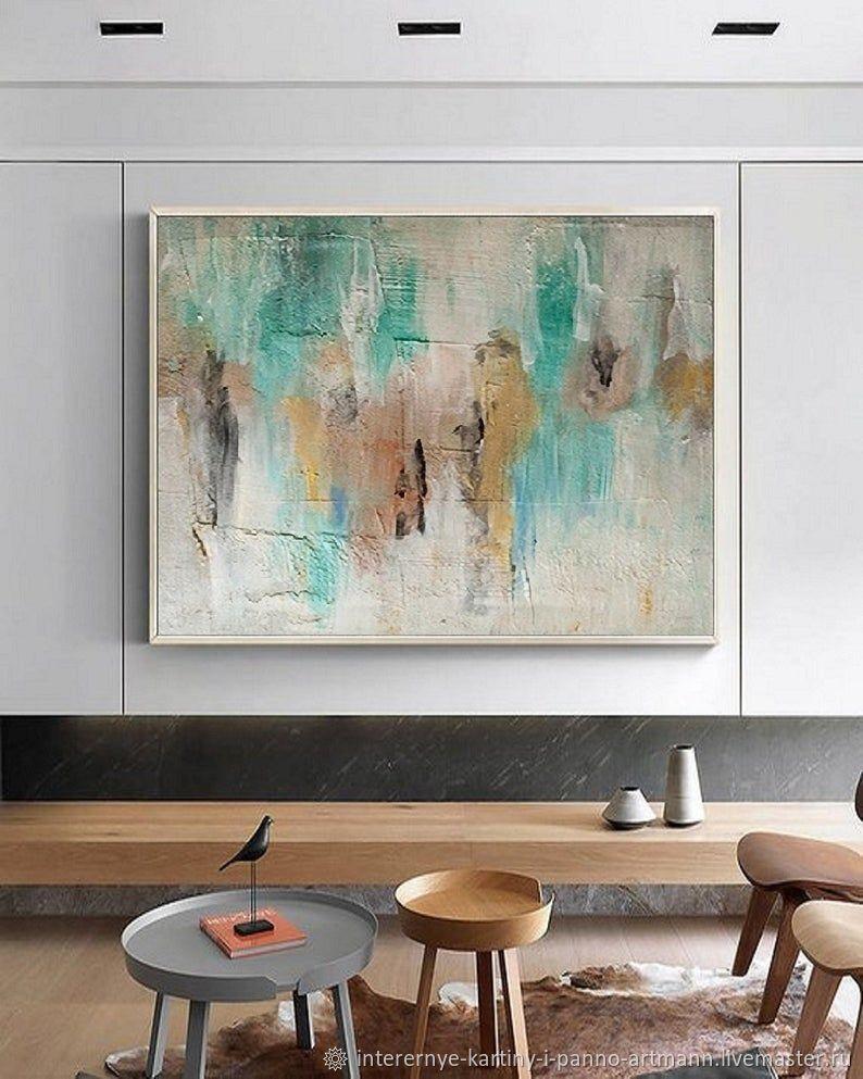 """Абстракция ручной работы. Ярмарка Мастеров - ручная работа. Купить """"Время перемен"""" абстракция картина в комнату акрил. Handmade."""