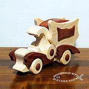 handmade. Livemaster - original item Truck made of wood