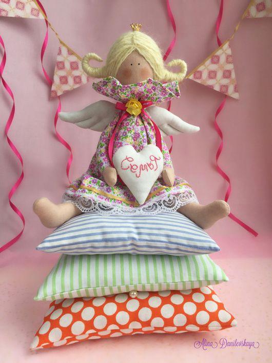 Куклы Тильды ручной работы. Ярмарка Мастеров - ручная работа. Купить Принцесса на горошине. Handmade. Кукла текстильная, подарок
