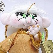 Куклы и игрушки ручной работы. Ярмарка Мастеров - ручная работа Кукла Ангелочек стеснительный. Handmade.