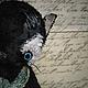 Мишки Тедди ручной работы. Плакса. Алёна Жиренкина (alenazhirenkina). Интернет-магазин Ярмарка Мастеров. Кот, мишки тедди, опилки
