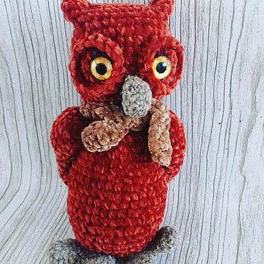 Куклы и игрушки ручной работы. Ярмарка Мастеров - ручная работа Мягкие игрушки: Сова. Handmade.