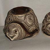 Для дома и интерьера ручной работы. Ярмарка Мастеров - ручная работа аромалампа-черепаха. Handmade.