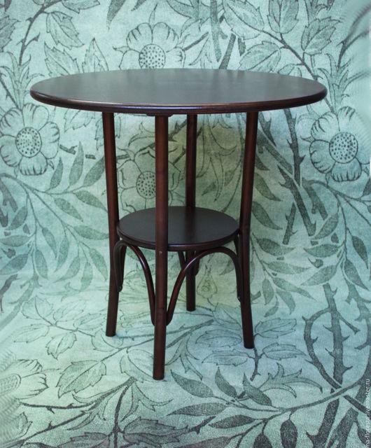венский стол, орех, диаметр - 75см