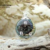 Украшения manualidades. Livemaster - hecho a mano Three treasures - ball pendant Beads lampwork artisan. Handmade.