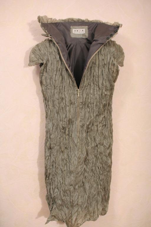"""Платья ручной работы. Ярмарка Мастеров - ручная работа. Купить Вечернее платье """"Древесная кора"""". Handmade. Хаки, платье для вечеринки"""