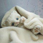Тедди Зверята ручной работы. Ярмарка Мастеров - ручная работа Котёнок Тёма.. Handmade.