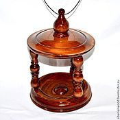 Trees handmade. Livemaster - original item Bird feeder made of natural wood (Siberian cedar) F2. Handmade.