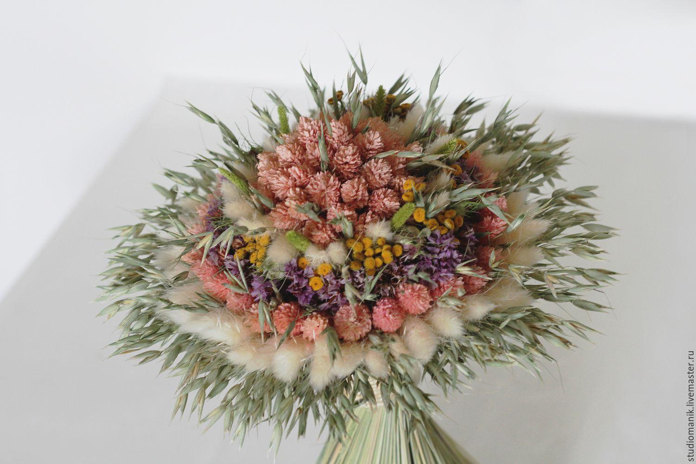 Составление букетов из живых цветов 79