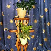 Для дома и интерьера ручной работы. Ярмарка Мастеров - ручная работа Эксклюзивная авторская подставка под цветы или предметы интерьера. Handmade.