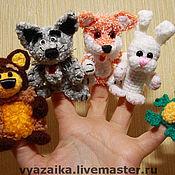 Куклы и игрушки ручной работы. Ярмарка Мастеров - ручная работа Пальчиковый театр. Handmade.