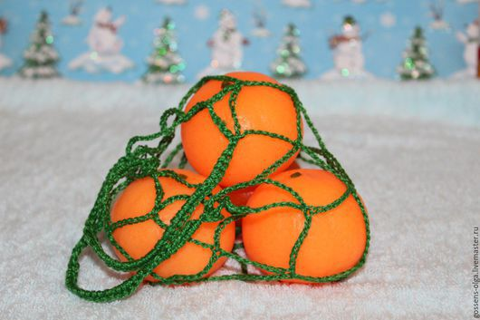 """Мыло ручной работы. Ярмарка Мастеров - ручная работа. Купить Мыло """" Мандарин в кожуре"""". Handmade. Оранжевый, новогодний сувенир"""