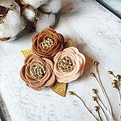 Повязки ручной работы. Ярмарка Мастеров - ручная работа Цветочный ободок,повязка. Handmade.