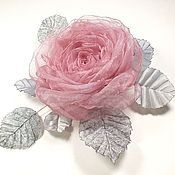 Украшения handmade. Livemaster - original item Just rose. Brooch. Handmade.