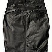 Одежда handmade. Livemaster - original item Leather Skirt. Handmade.