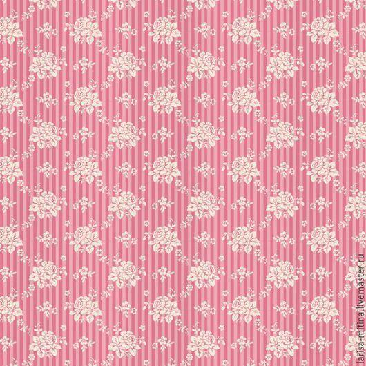 Шитье ручной работы. Ярмарка Мастеров - ручная работа. Купить Ткань Тильда Emily Pink. Handmade. Разноцветный, ткань тильда