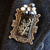 Украшения handmade. Livemaster - original item The Victorian era. Jewelry set brooch and earrings. Handmade.