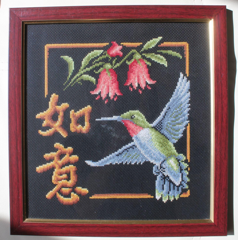 Вышивка колибри исполнение желаний