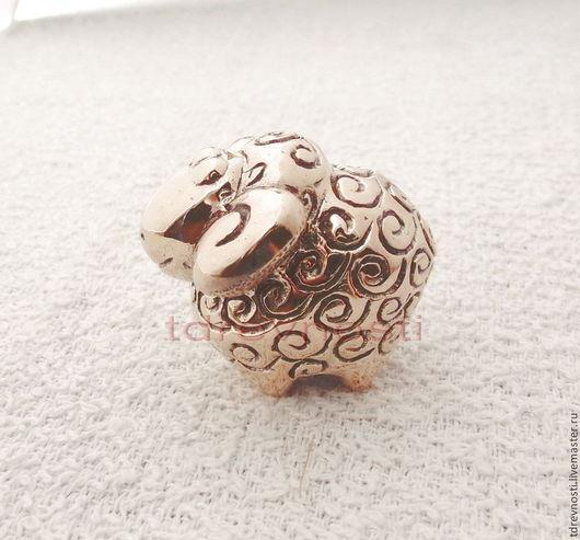 Статуэтки ручной работы. Ярмарка Мастеров - ручная работа. Купить Барашек миниатюрная статуэтка. Handmade. Авторская ручная работа, баран