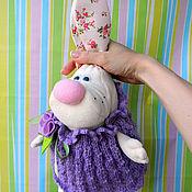 """Куклы и игрушки ручной работы. Ярмарка Мастеров - ручная работа Зайка """"Сиренька"""". Handmade."""