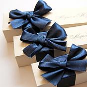 """Свадебный салон ручной работы. Ярмарка Мастеров - ручная работа Приглашение свиток """"Индиго"""". Handmade."""