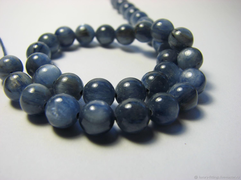 Kyanite, 6 mm, natural kyanite, Beads1, Moscow,  Фото №1