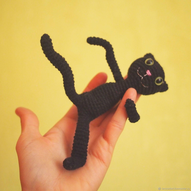Чёрный кот, Мягкие игрушки, Новосибирск,  Фото №1