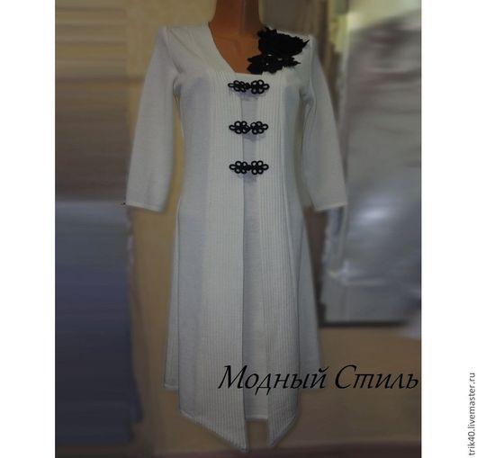 """Платья ручной работы. Ярмарка Мастеров - ручная работа. Купить Платье """"Льдинка"""". Handmade. Белый, платье на заказ"""