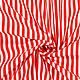 Немецкий хлопок бело-красная полоска, Ткани, Москва,  Фото №1