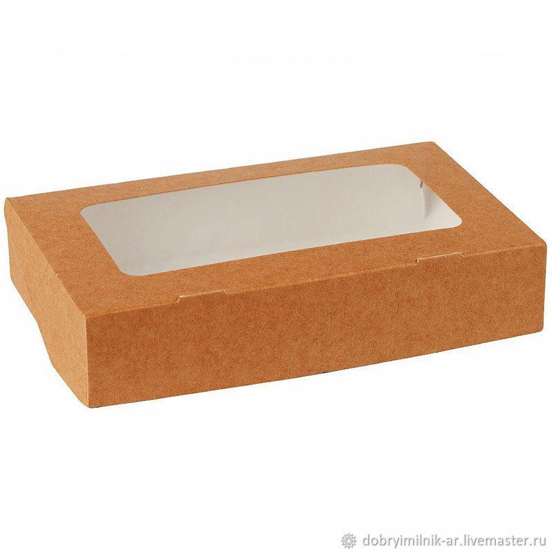 Крафт коробочка высокая для наборов, Коробки, Москва,  Фото №1