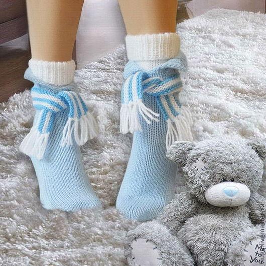 носки вязанные теплые спицами на спицах носки для дома смешные носки для девочки носочки детские домашняя вязанная обувь для дома сапожки вязаные домашние необычные носки
