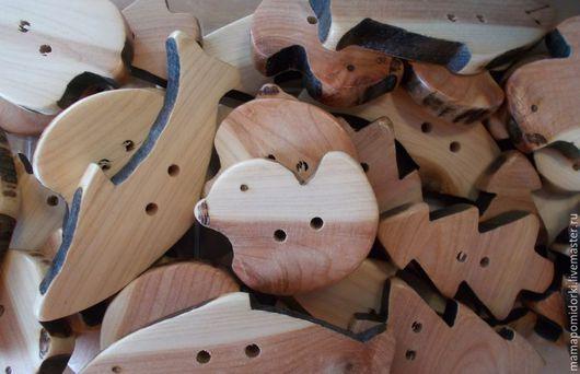 Для украшений ручной работы. Ярмарка Мастеров - ручная работа. Купить фигурки- подвески. Handmade. Дерево, дерево
