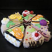 Подарки к праздникам ручной работы. Ярмарка Мастеров - ручная работа Аппетитный торт. Handmade.