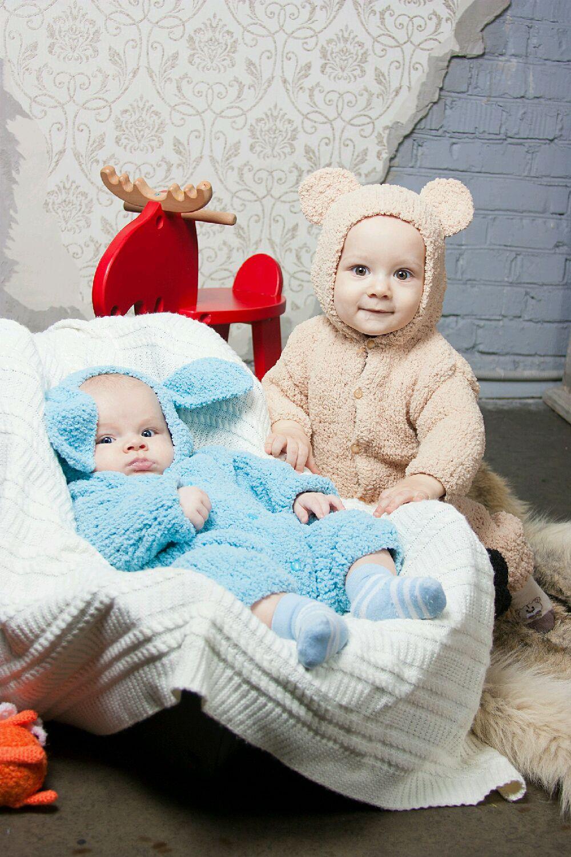 Одежда унисекс ручной работы. Ярмарка Мастеров - ручная работа. Купить  Плюшевые комбинезоны для малышей ... 6b215f11a3da8