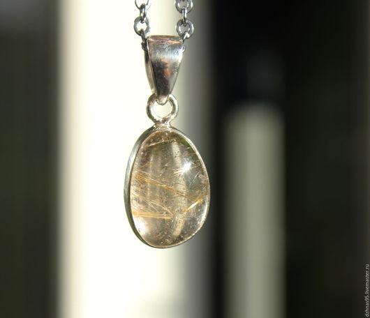 Кулоны, подвески ручной работы. Ярмарка Мастеров - ручная работа. Купить Кулон Волосатик в серебре. Handmade. Натуральные камни